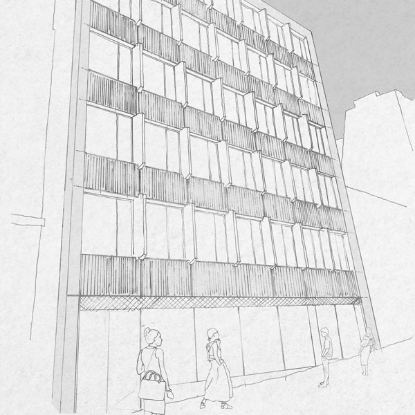Planning Permission Submitted for 37-39 and 41 Corn Street, Bristol.